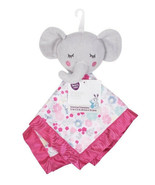 Parents Choice Blanket Buddy Baby Girl Lovey Bella Elephant Pink Floral ... - $14.95