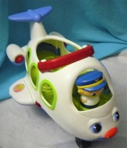 Fisher Price Little People Lil Movers Airplane Sing Along Plane W/ Capta... - $14.50