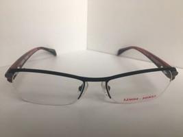 New Mikli by ALAIN MIKLI ML1104 ML 1104 0001 51mm Black Red Eyeglasses Frame - $114.23