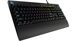 Logitech G213 Prodigy RGB Gaming Wired Keyboard with 16.8 Million Lighti... - $790,42 MXN