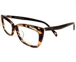 Laura Ashley Violet Tortoise C4 Eyeglasses Plastic Women Ladies New 53-1... - $89.09