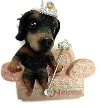"""Kurt S. Adler The Dog Resin 3"""" Ornament (Heiress) - $15.00"""
