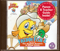 Freddy Fish 4 (The Case of the Hogfish Rustlers of Briny Gulch) PC Game - $5.00