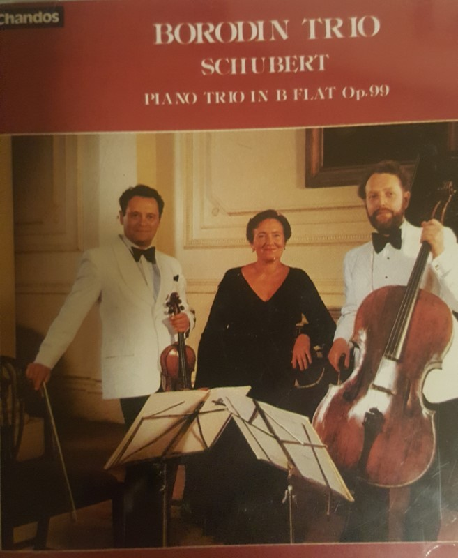 Schubert Piano Trio No 1 by Borodin Trio Cd