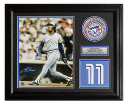 George Bell Toronto Blue Jays Autographed Powder Blue Jersey Number 23x1... - $140.00