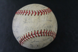 1959 San Francisco Giants FACSIMILE Signed Team Baseball Stadium souveni... - $128.69