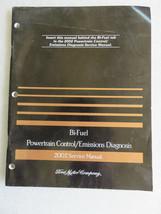 2002 Ford F-150 Bi-Fuel CNG LPG Powertrain Emissions Service Manual OEM ... - $4.89