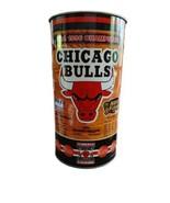 Vintage 1996 NBA Chicago Bulls P&K Product  Metal Tin Waste Trash Basket Can  - $114.00
