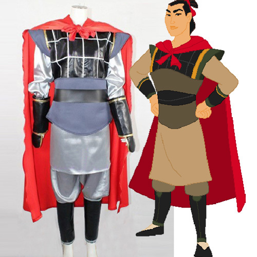 Halloween Costume 38.Mulan Li Shang Cosplay Costume Men Halloween And 38 Similar Items