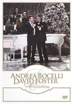 Andrea Bocelli and David Foster: My Christmas  DVD New Factory Sealed - $14.99