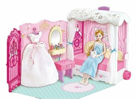 Mimi World Wedding Mimi Bedroom Doll Suitcase Carrier Case Roleplay Toy Playset