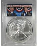 2017 Silver Eagle Trump Presidential Transition PCGS MS70 1st Strike AJ674 - $289.19
