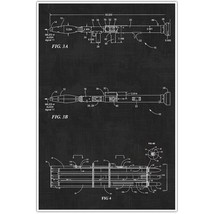 Weapons Patent Print, Rocket Launcher Set Patent Blueprint , Weapon Photo Art - $11.39+