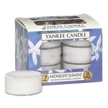 Yankee Candle Midnight Jasmine Tea Light Candles, Floral Scent - $22.99