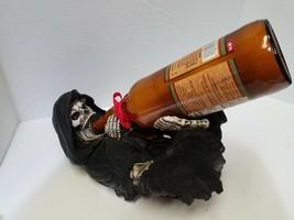 The Grim Reaper Skull Skeleton Wine Bottle Holder Guzzler Scary - £23.76 GBP