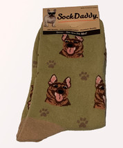 German Shepherd Socks Unisex Dog Cotton/Poly One size fits most - $11.99