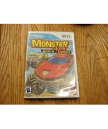 Monster 4x4 World Circuit - Nintendo Wii - Complete includes cd box and ... - $8.81