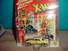 JL MARVEL X-MEN '55 CHRYSLER C-300 #8 CHASE CAR WITH RUBBER TIRES MIP FR... - $12.19