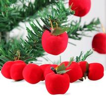 Christmas Decoration Gifts Red Apple Pendant Christmas Tree Decorations ... - $1.62
