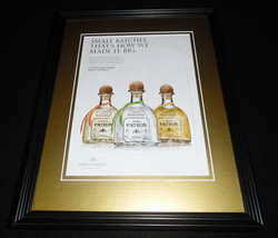 2015 Patron Tequila Framed 11x14 ORIGINAL Advertisement B - $32.36