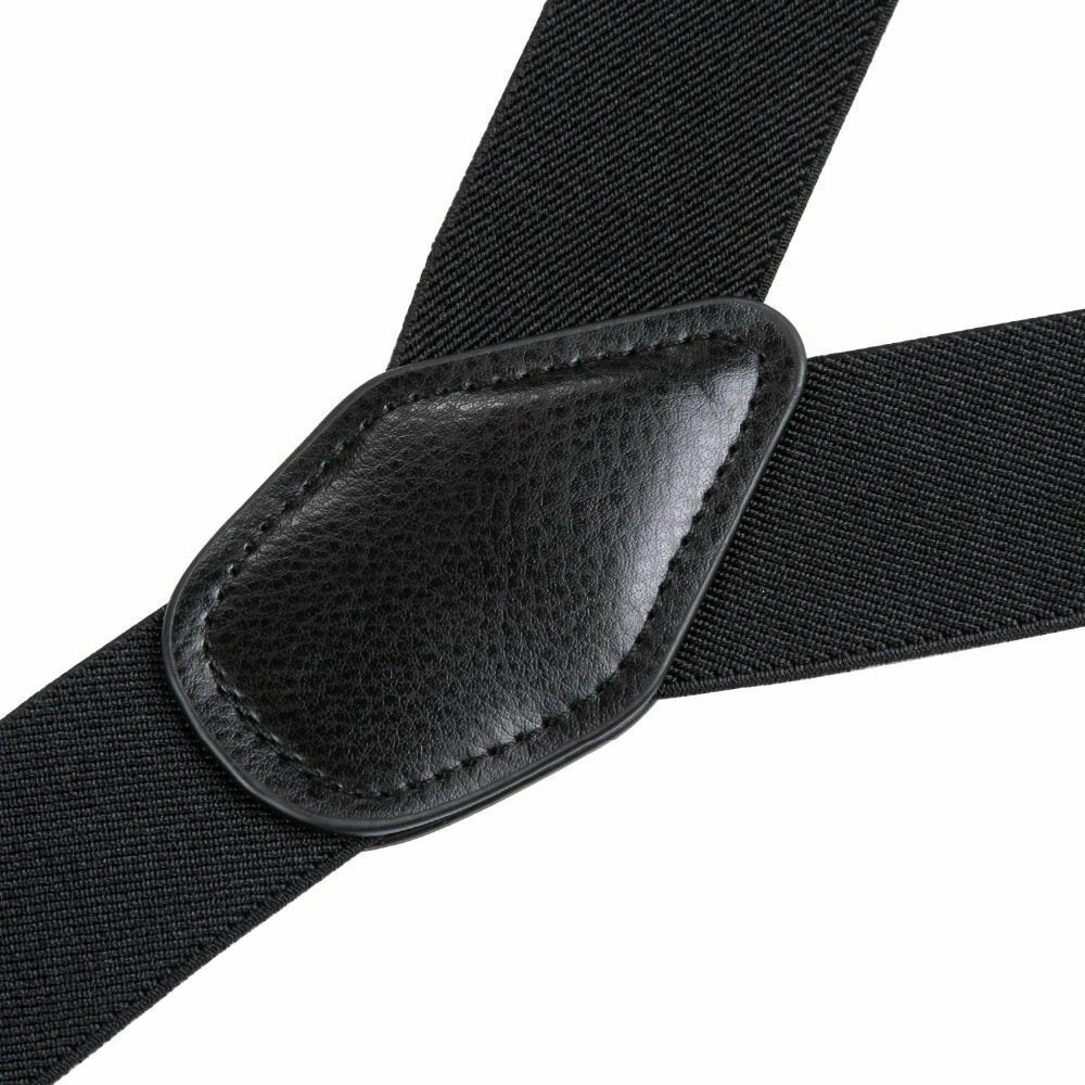 Men Casual Suspender Solid Pattern High Quality Adjustable Six Buttons Belt image 5