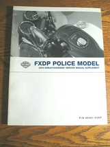 2004 Harley-Davidson Police FXDP Dyna Defender Service Manual Supplement Xlnt - $54.45