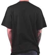 LRG Men's Black Green Floral Cursive L-R-G Logo T-Shirt NWT image 2