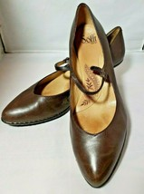 Sofft womens Brown leather heels pumps 10M 10 M Shoes womens - $36.26