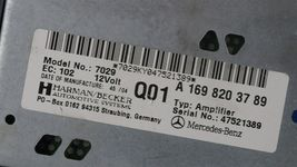 Mercedes W203 W209 Amplifier Amp A1698203789 Herman Becker image 6