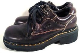 Dr. Marten's Air Cushion Women's Brown Leather Shoes Hiker Trail Walking Size 4 - $39.99