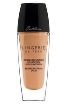 Guerlain Lingerie Invisible Skin Fusion Foundation SPF20 BEIGE FONCE 05 ... - $41.58