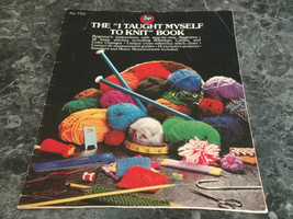 The I Taught Myself to knit Book by Boye Nom7701 - $2.99