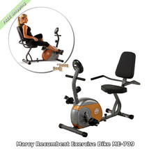 Recumbent Exercise Bike Marcy ME-709 Home Gym Bikes Workout Equipment fo... - $177.00