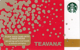 Starbucks 2015 Teavana Collectible Gift Card New No Value - $4.99