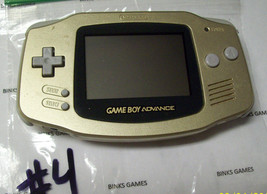 Gameboy Advance Limited Edition Handheld System  GOLD  #4 - $62.99