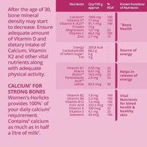 Women's Horlicks 400Gm Nutrition Drink Choose from 2 Flavors Chocolate / Caramel image 3