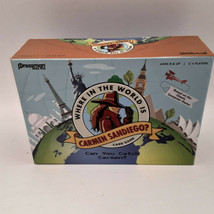 Where in the World is Carmen  Sandiego Card Game 2018 Pressman 2-4 Players 8&up - $9.88