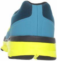 DC Shoes Uomo 'S Unilite Elastico Sportivo Blu Giallo Corsa Scarpe 7 USA Nib image 5