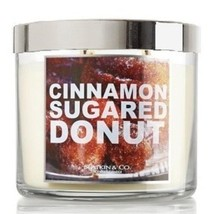 Bath and Body Works Slatkin & Co. Cinnamon Sugared Donut Scented Candle ... - $60.00
