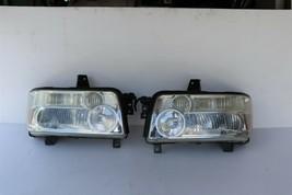 04-10 Infiniti QX56 Xenon HID Headlight Head Light Lamps Set LH & RH -POLISHED