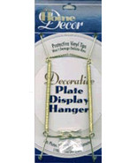 Decorative Plate Display Hanger Expandable 7.5 Inches To 9.5 Inches Gold... - $12.89