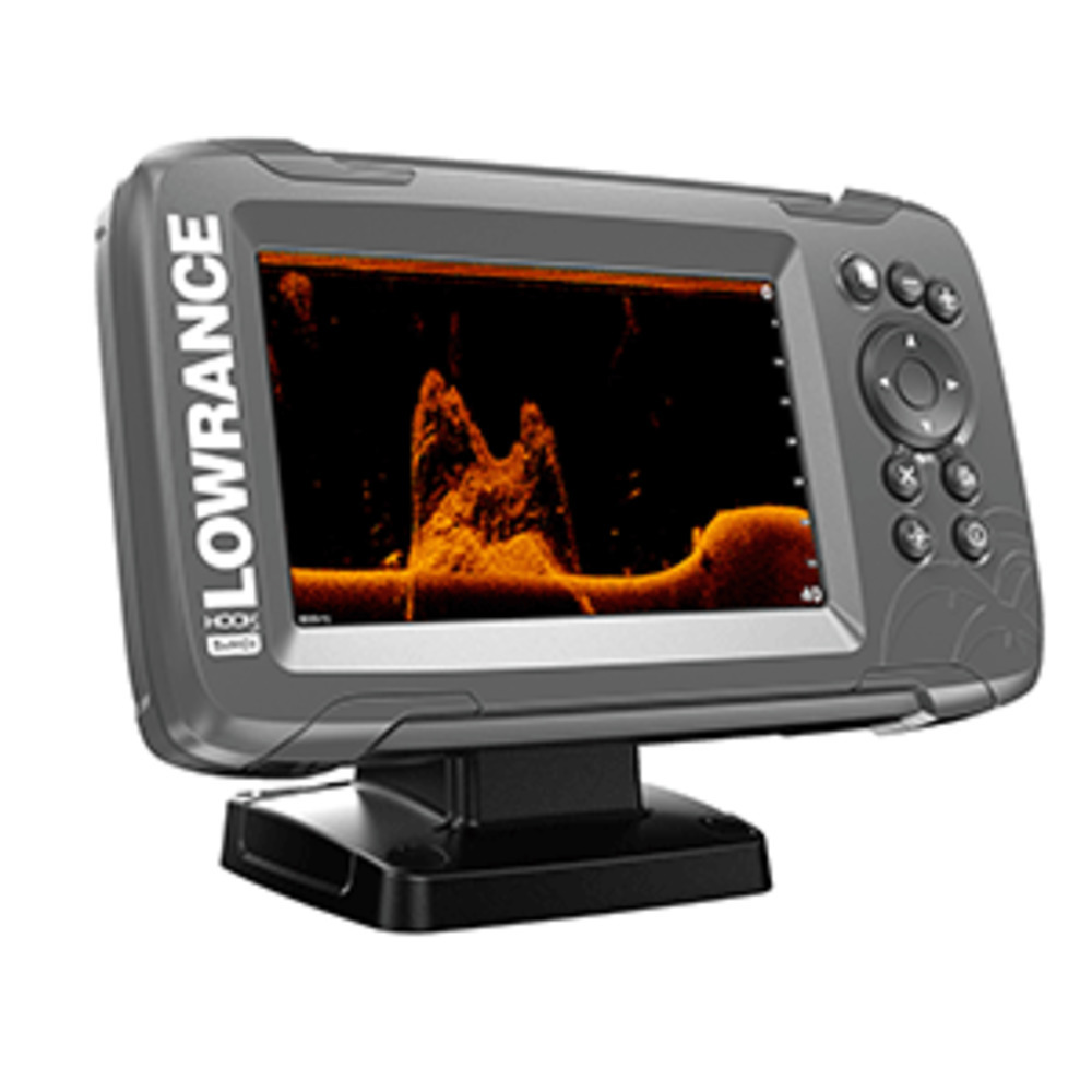 "Primary image for Lowrance HOOK²-5x 5"" GPS SplitShot Fishfinder w/Track Plotter Transom Mount"