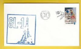 SL-1 KENNEDY SPACE CENTER MAY 14 1973 RUBBER STAMP CACHET  - $1.98