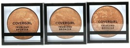 3 Ct Covergirl 0.1 Oz TruBlend 200 Bronze Perfect Natural Glow Oil Free Bronzer - $24.99