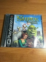 Shrek: Treasure Hunt - PS1 / Sony PlayStation 1, 2002 - $5.98