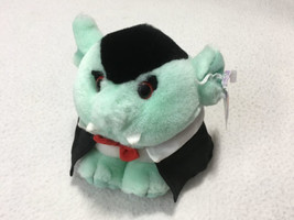NWT Puffkins Vampire Limited Edition Halloween Plush 6728 Holiday Swibco... - $14.99