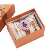 6Pcs/Set Sailor Moon Watch Charm Links Bracelet Beads Set for Women Love... - $27.99
