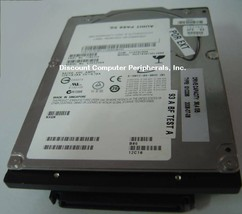 IBM HUS103073FL3800 36GB 10K RPM 3.5 SCSI 80PIN Drive Tested Good Free USA Ship