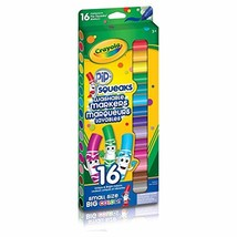 Crayola 16 Pip-Squeaks Broad Line Washable Markers - $9.80