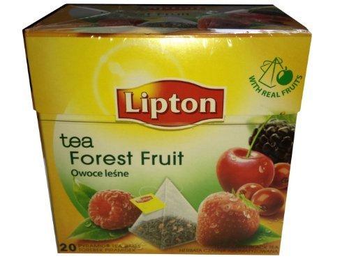 Lipton Schwarztee Forest Fruit Tea 20 Pyramiden Teebeutel - $25.04